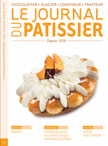 Le Journal du Patissier, No. 461 (April 20 - May 20, 2020) (French)