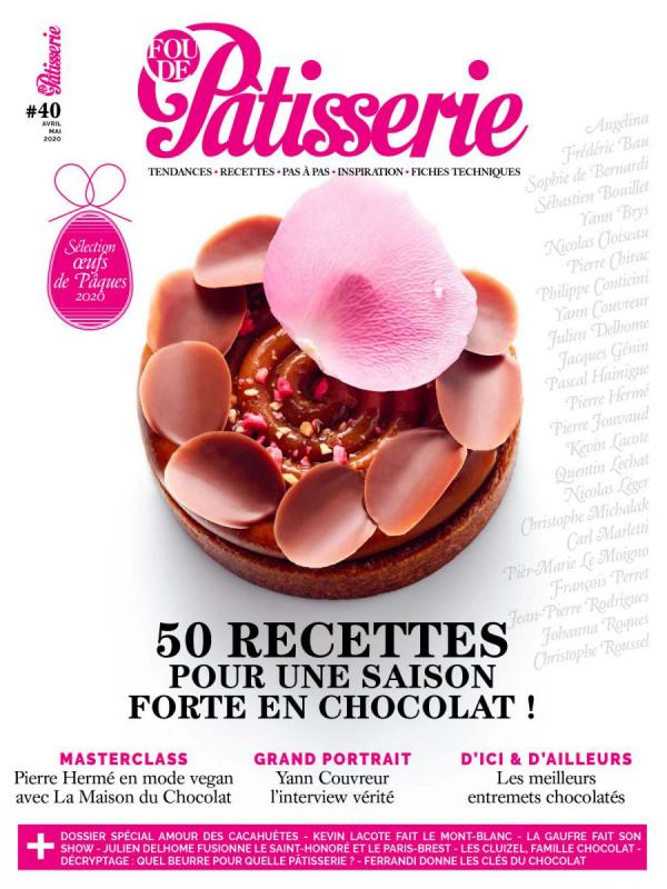 Fou de Patisserie #40, Apr. - May. 2020 (French)