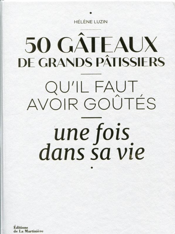 50 Gâteaux de Grands Pâtissiers (French) (Luzin, Czerw)