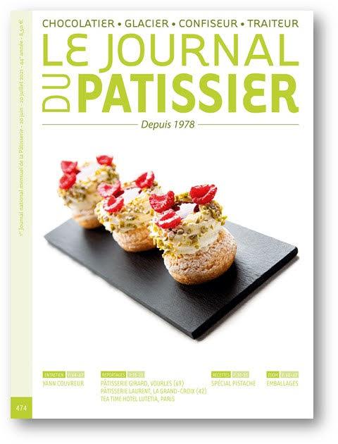 Le Journal du Patissier, No. 474 (June 20 - July 20, 2021) (French)