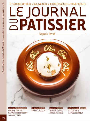 Le Journal du Patissier, No. 476 (Sep. 20 - Oct. 20, 2021) (French)